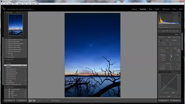 Watch Me Edit a Night Landscape Photo in Lightroom