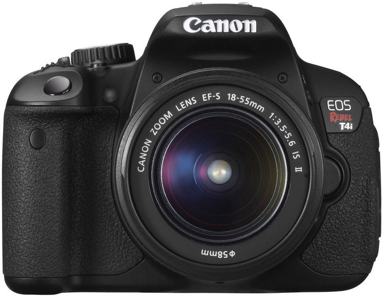 Canon T4i Cheat Cards
