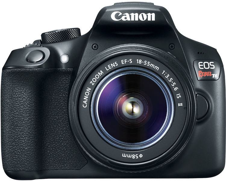 Canon T6 Cheat Cards