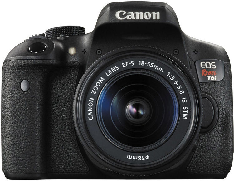 Canon T6i Cheat Cards