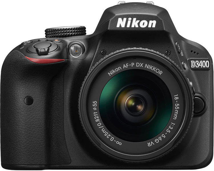 Nikon D3400 Cheat Cards