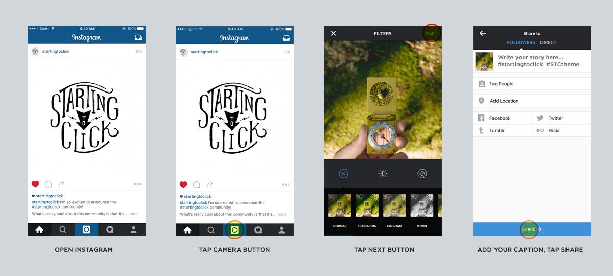 Dropbox to Instagram - Step 3