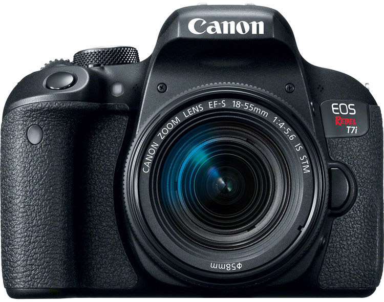 Canon Rebel T7i (EOS 800D) Cheat Cards